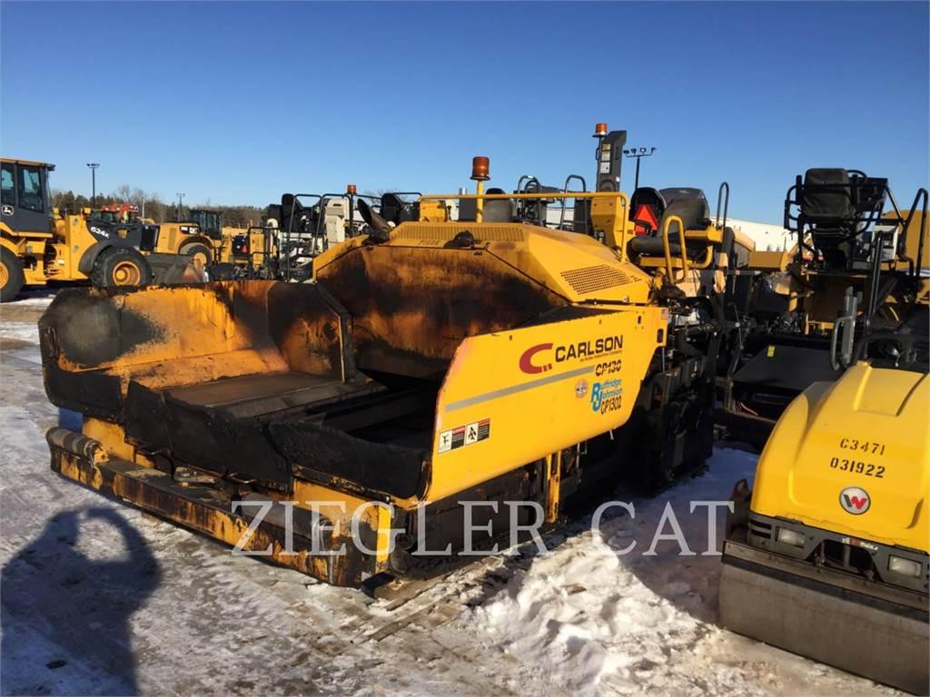 Carlson CP-130, Pavatoare asfalt, Constructii