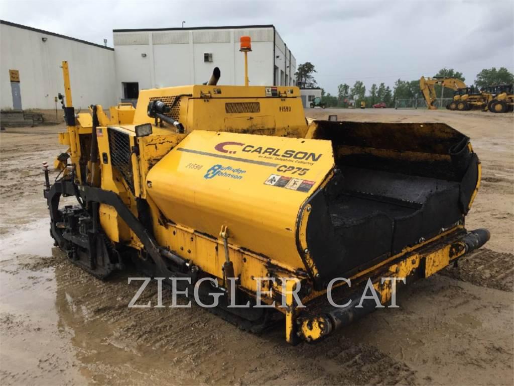 Carlson CP - 75, Pavatoare asfalt, Constructii