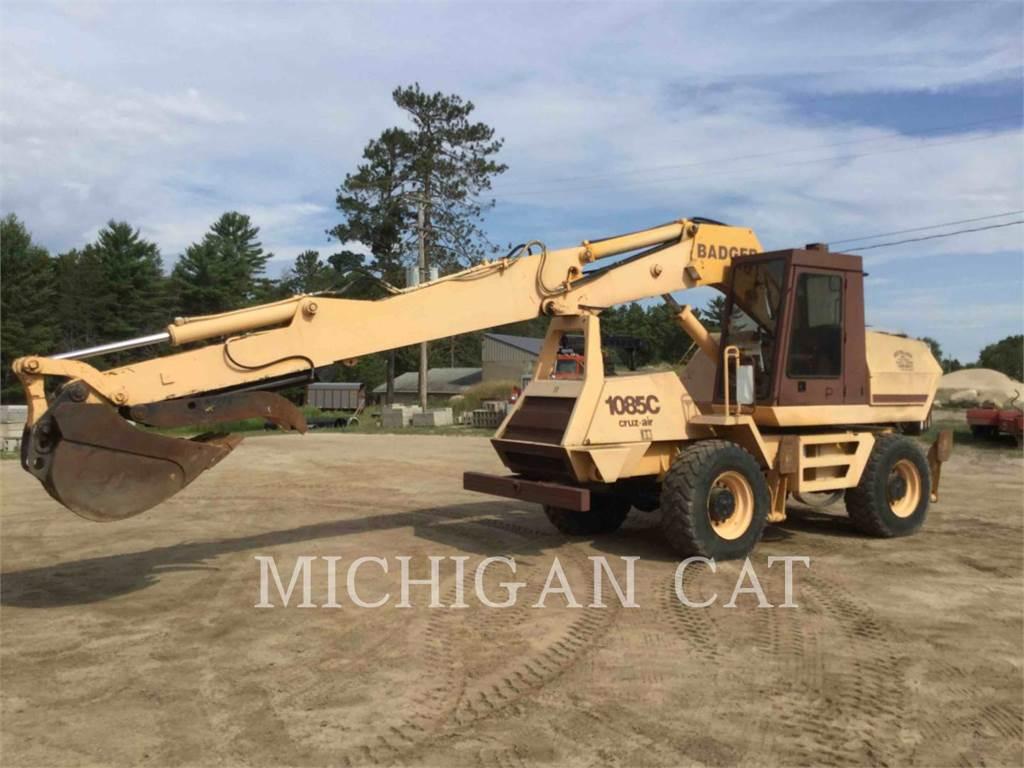 CASE 1085 BADGER, wheel excavator, Construction