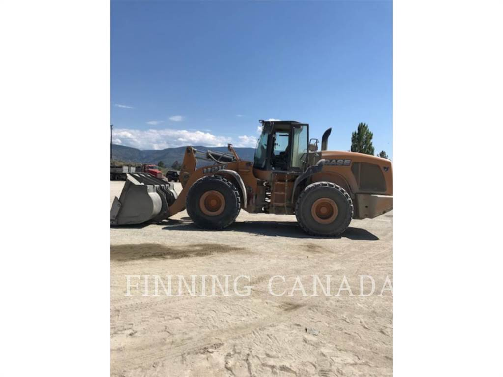 CASE 1121 F, Wheel Loaders, Construction