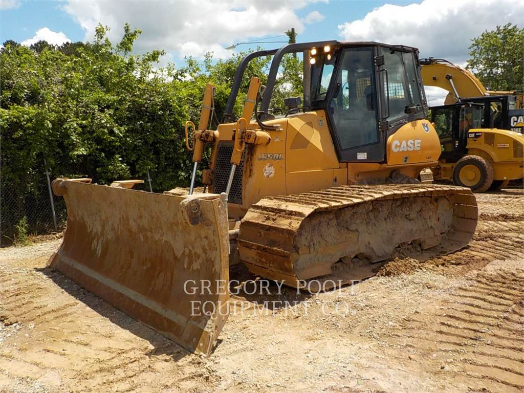 CASE 1650L, Dozers, Construction
