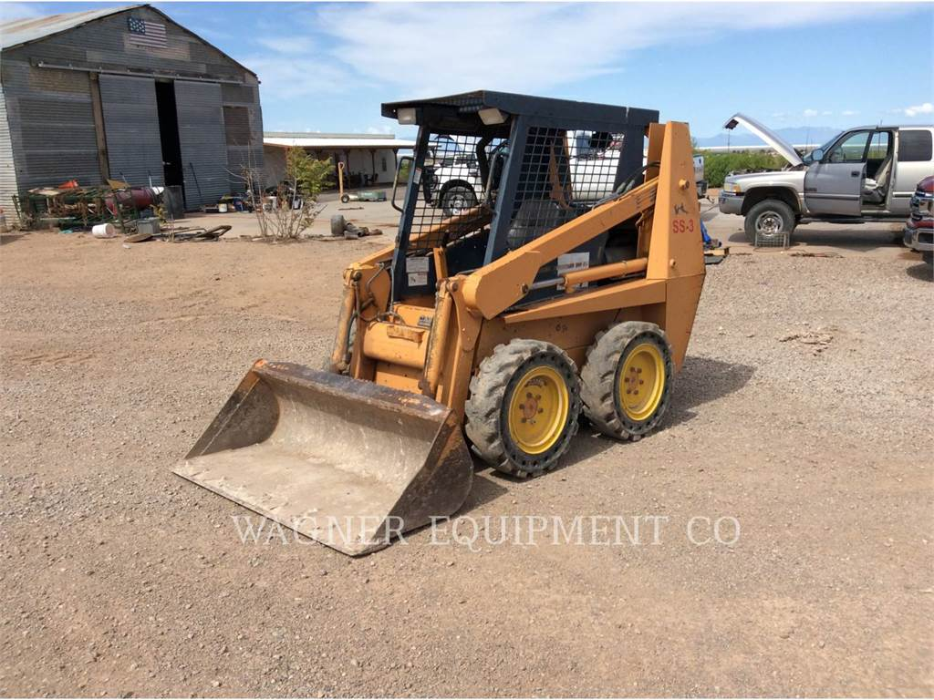 CASE 1840, Skid Steer Loaders, Construction