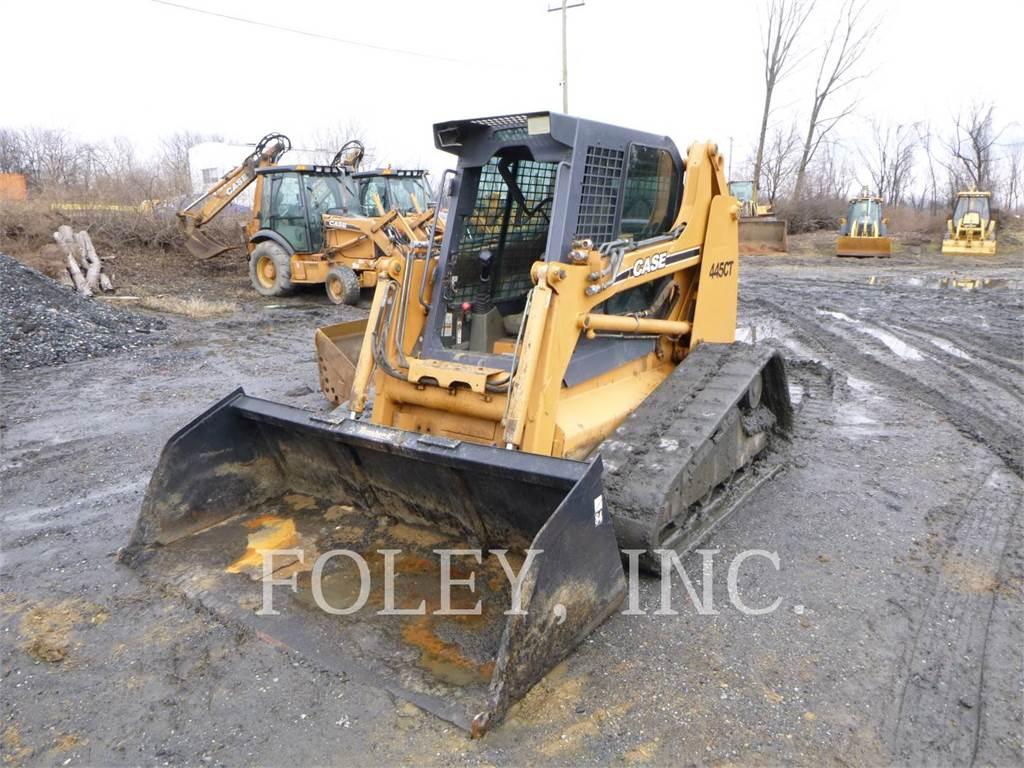 CASE 445CT, Carregadoras de direcção deslizante, Equipamentos Construção