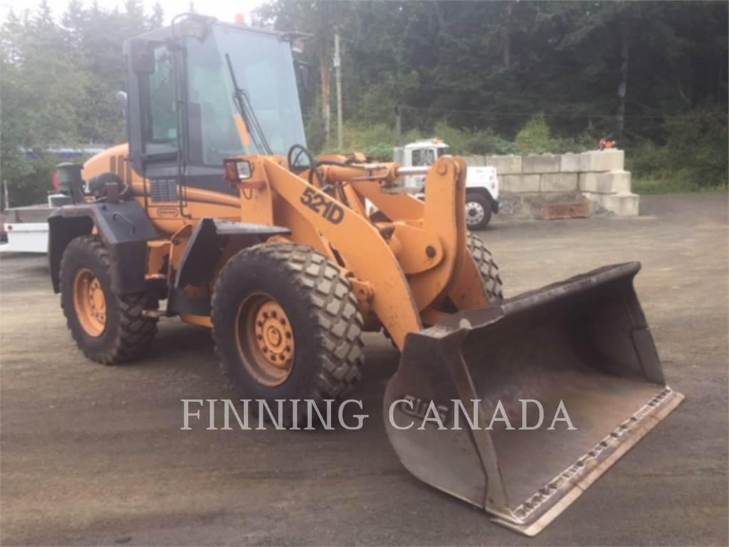 CASE 521 D, Wheel Loaders, Construction