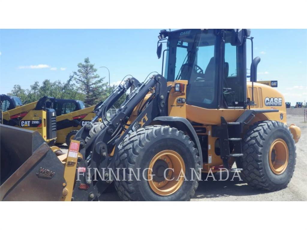 CASE 521 F XT, Wheel Loaders, Construction