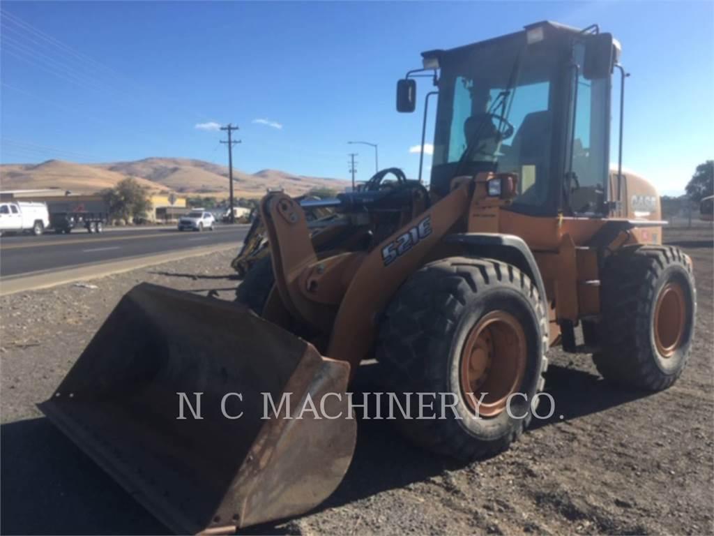 CASE 521E, Radlader, Bau-Und Bergbauausrüstung
