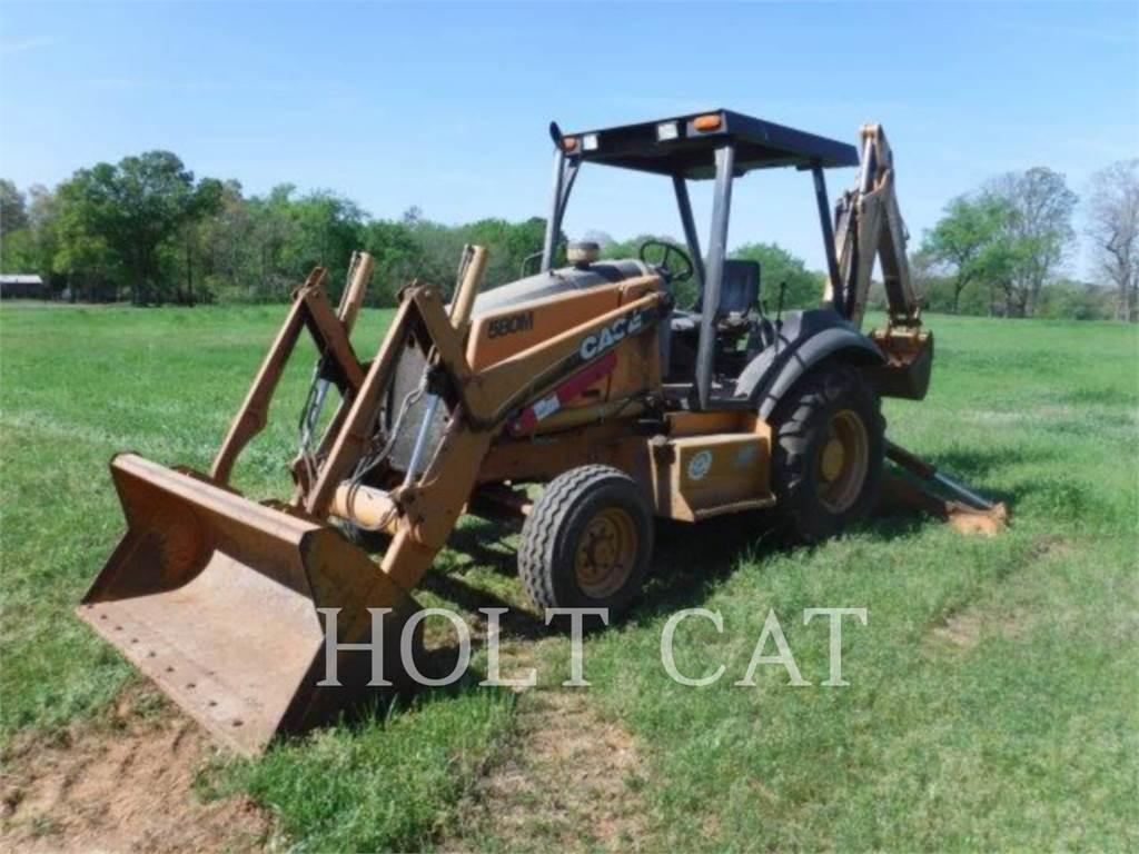 CASE 580 M, backhoe loader, Construction