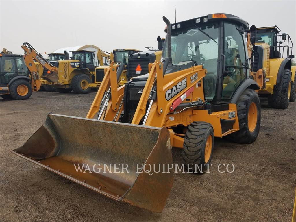 CASE 580 SN, backhoe loader, Construction