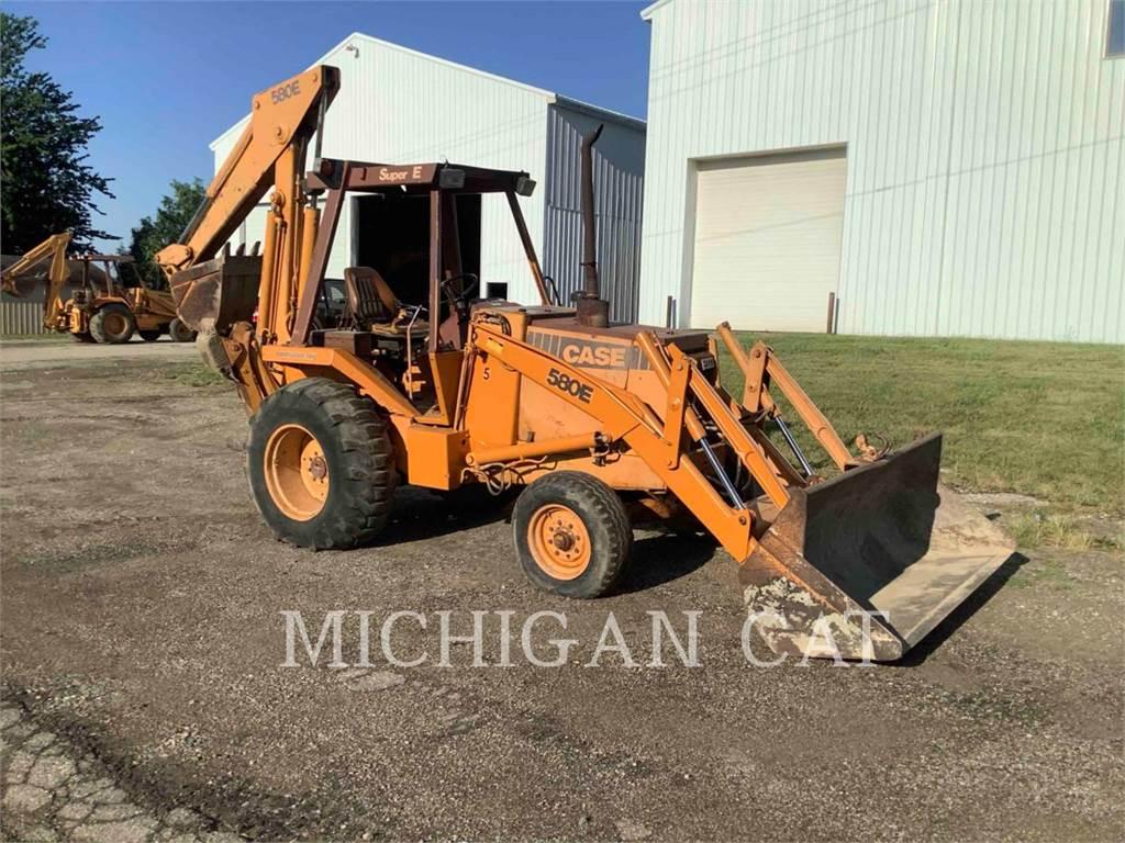 CASE 580.SUPER.E, backhoe loader, Construction