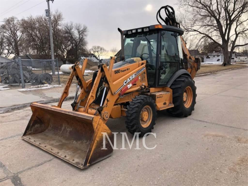 CASE 580M_CA, backhoe loader, Construction