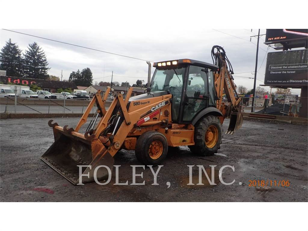 CASE 580SM SERIES 2, backhoe loader, Construction