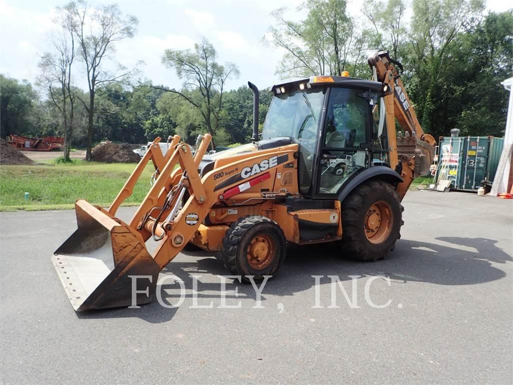 CASE 580SN, backhoe loader, Construction