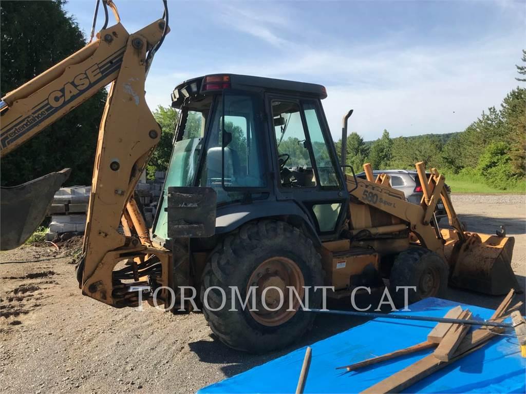 CASE 580SUPERL, backhoe loader, Construction