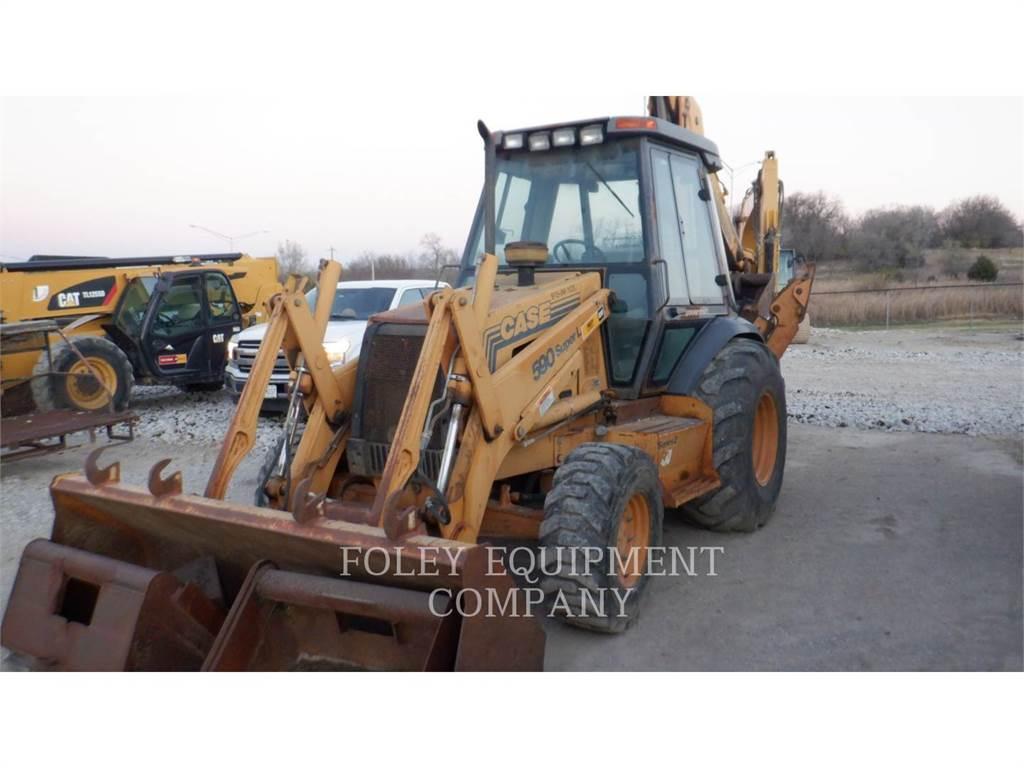 CASE 590SUPERL, buldoexcavatoare, Constructii