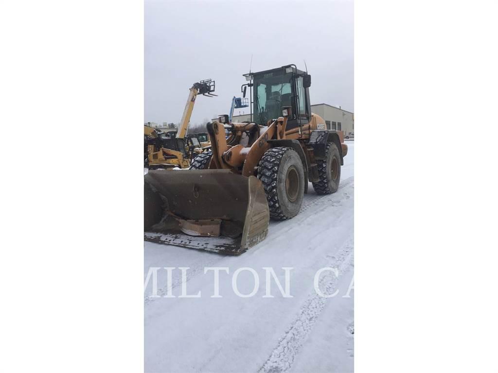 CASE 621D, Cargadoras sobre ruedas, Construcción