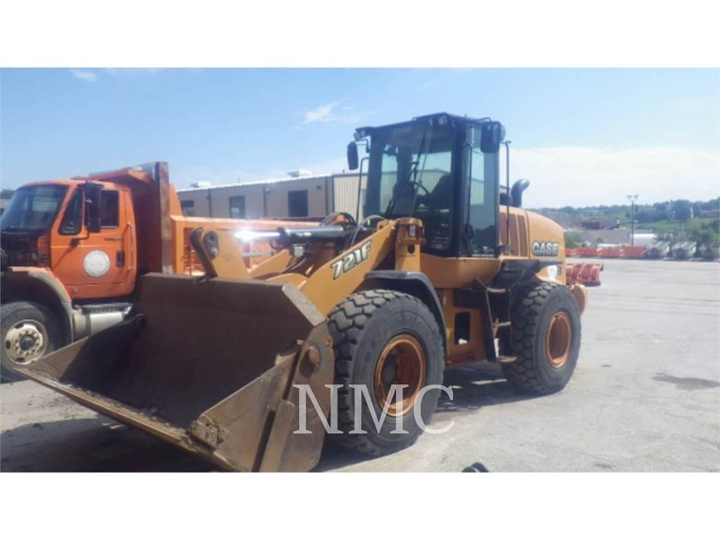 CASE 721F_CA, Pás carregadoras de rodas, Equipamentos Construção