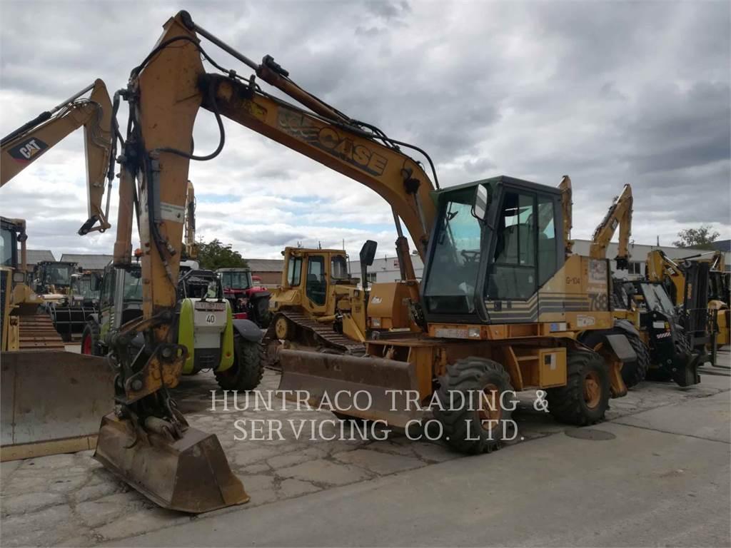 CASE 788 P, wheel excavator, Construction