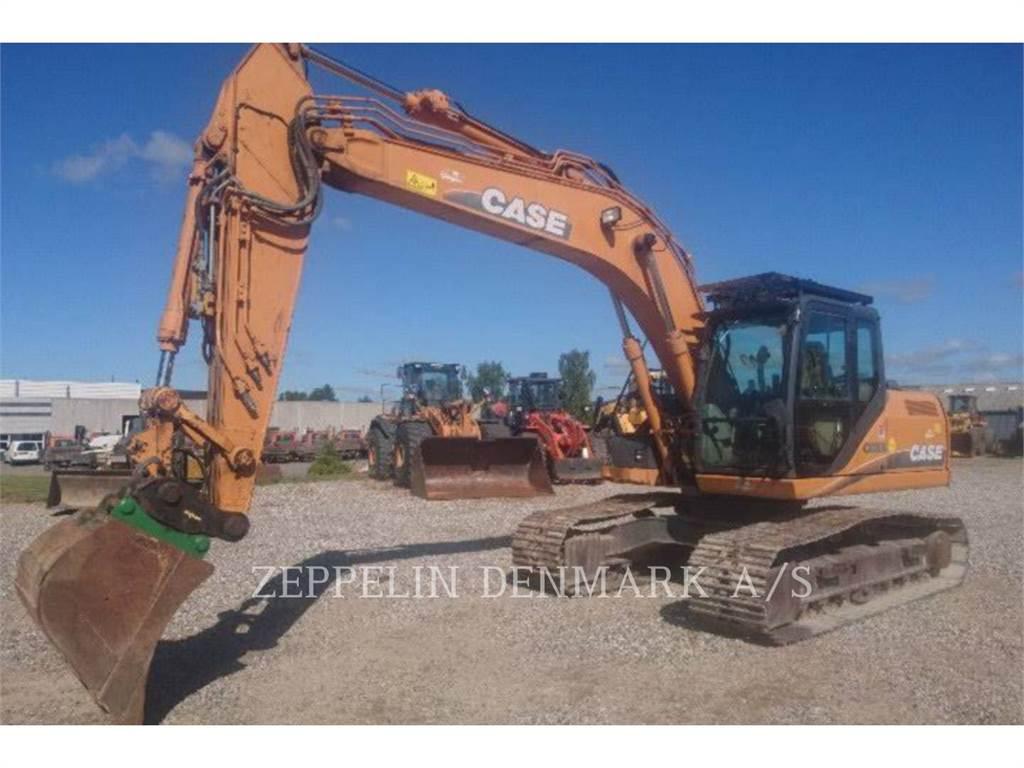 CASE CX 180 B, Rupsgraafmachines, Bouw
