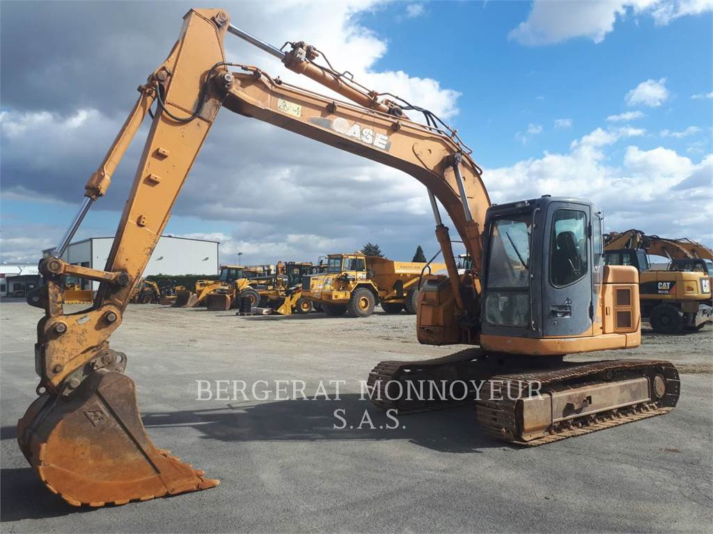 CASE CX135, Crawler Excavators, Construction