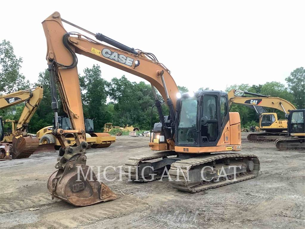 CASE CX145SR HRQ, Crawler Excavators, Construction