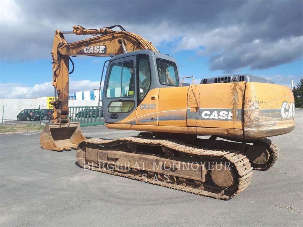 CASE CX210, Crawler Excavators, Construction