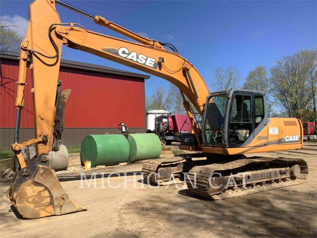 CASE CX210、履带挖掘机、建筑设备