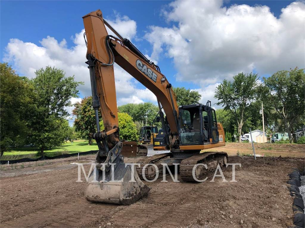 CASE CX210D, Crawler Excavators, Construction