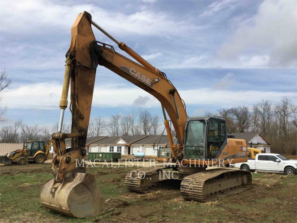 CASE CX240B, Crawler Excavators, Construction