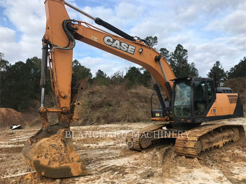 CASE CX300D, Crawler Excavators, Construction