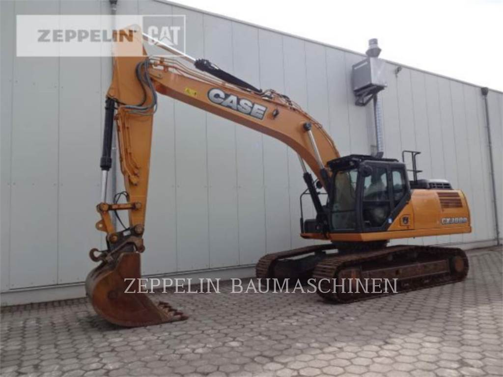 CASE CX300D, Pelle sur chenilles, Équipement De Construction