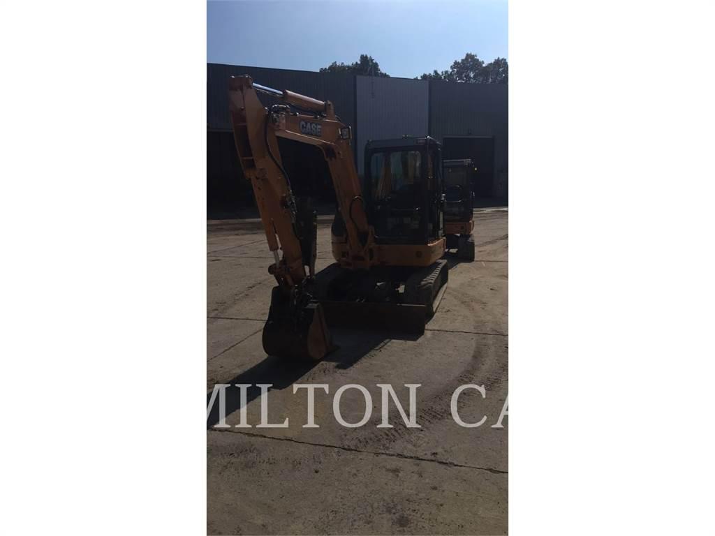 CASE CX55B, Excavadoras de cadenas, Construcción