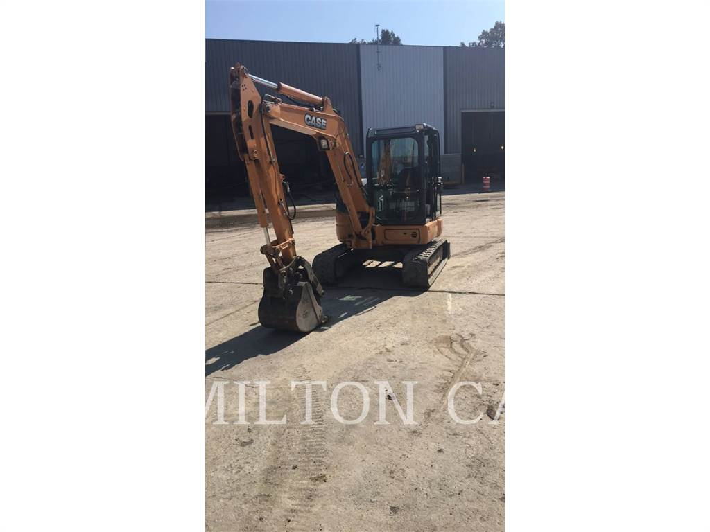 CASE CX55B, Crawler Excavators, Construction