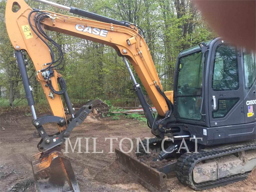 CASE CX60C, Crawler Excavators, Construction