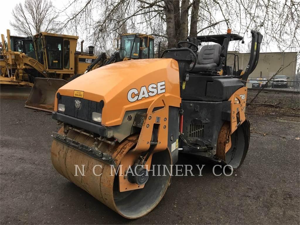 CASE DV36, Asphalt pavers, Construction