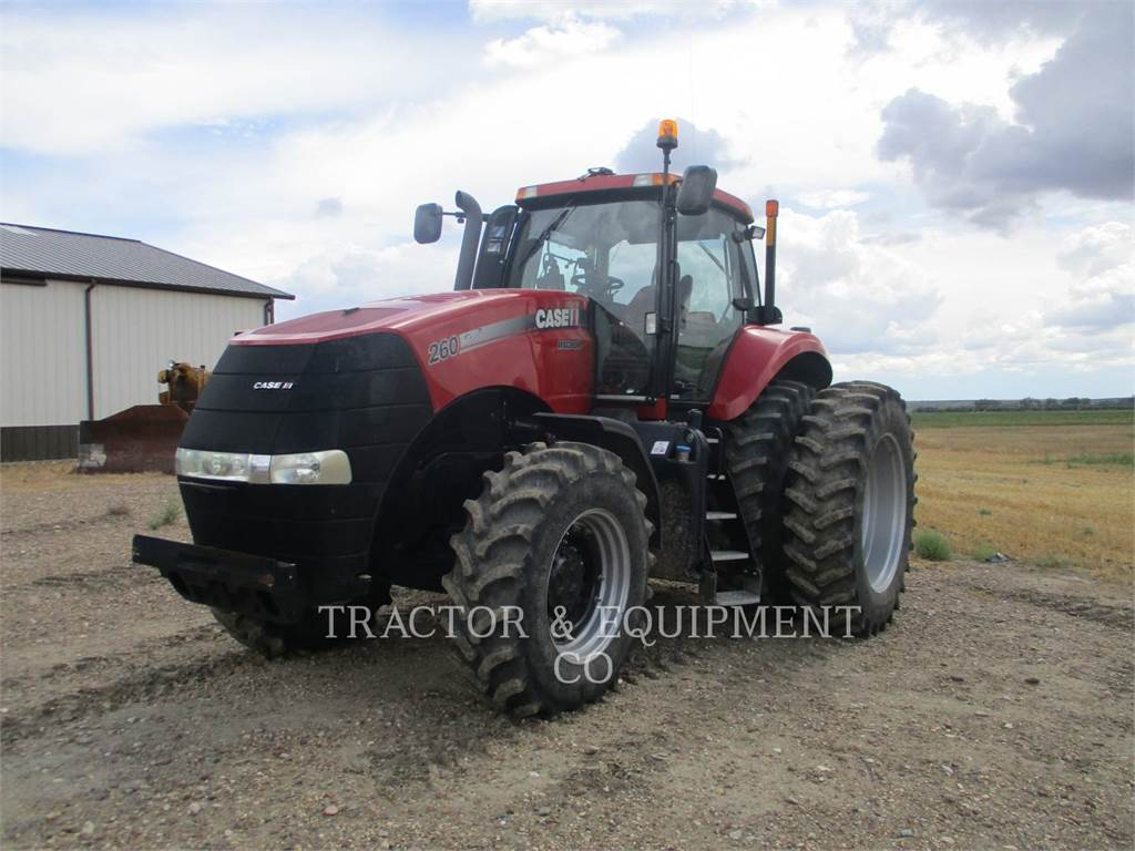Case IH 260 MAG, tractoare agricole, Agricultură