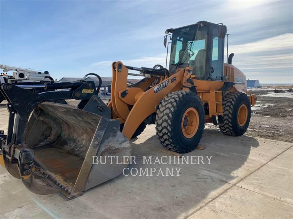 Case IH 621F XR, Wheel Loaders, Construction