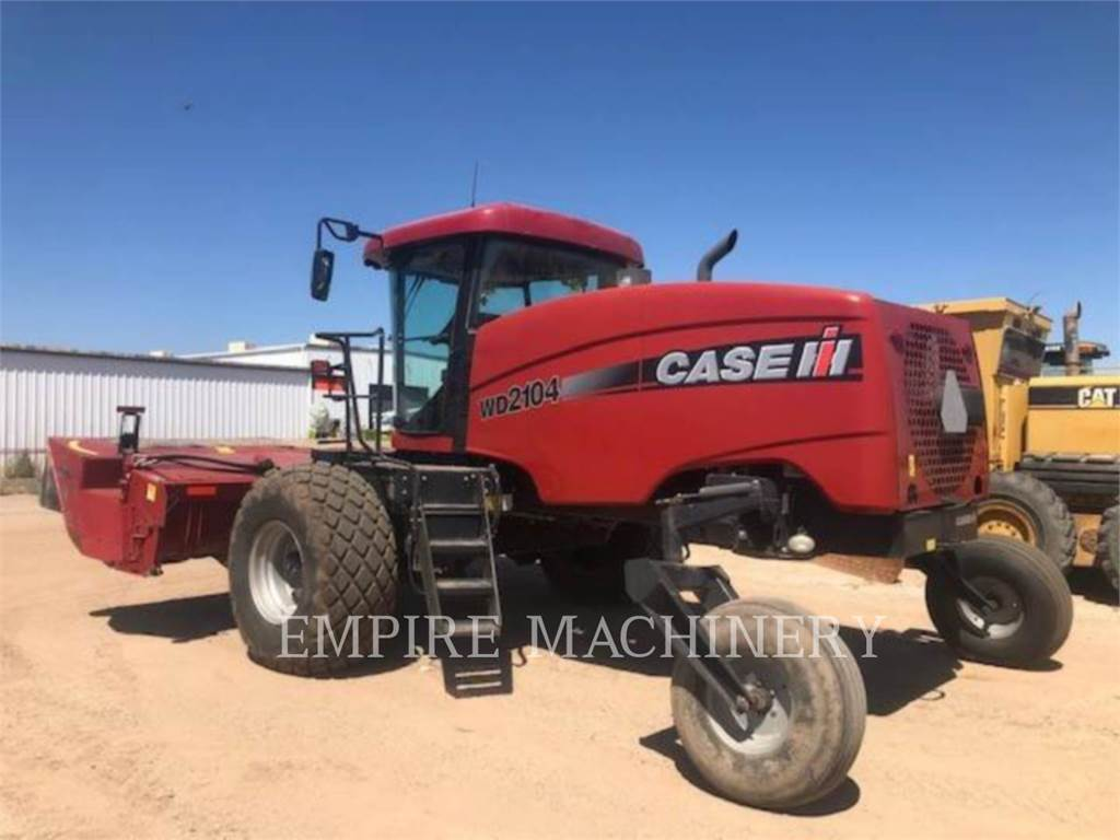 Case IH WD2104, hay equipment, Agriculture