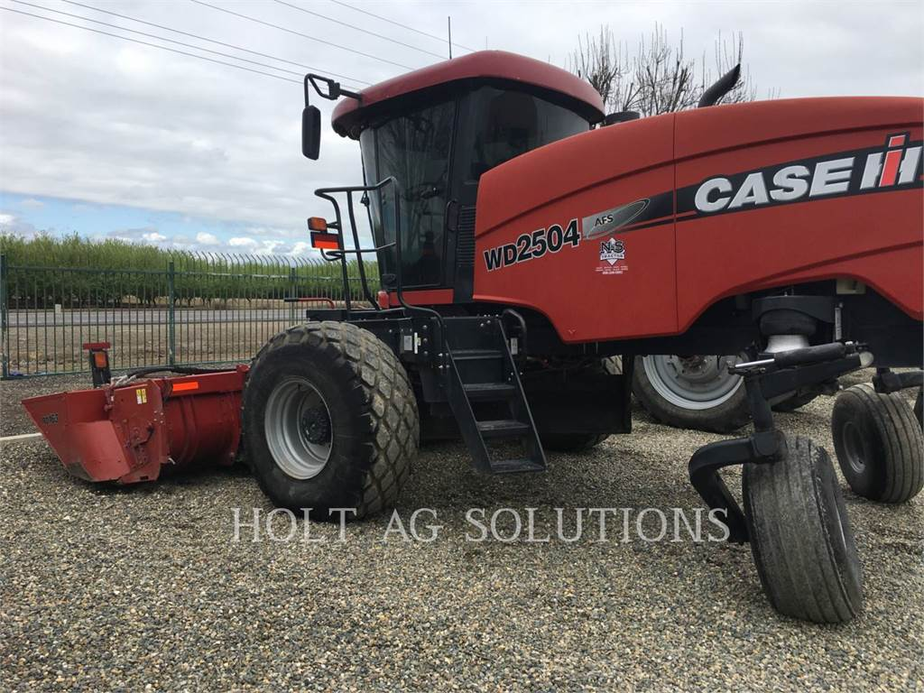 Case IH WD2504, windrowers, Agriculture