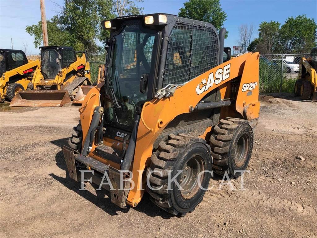 CASE SR 210, Skid Steer Loaders, Construction