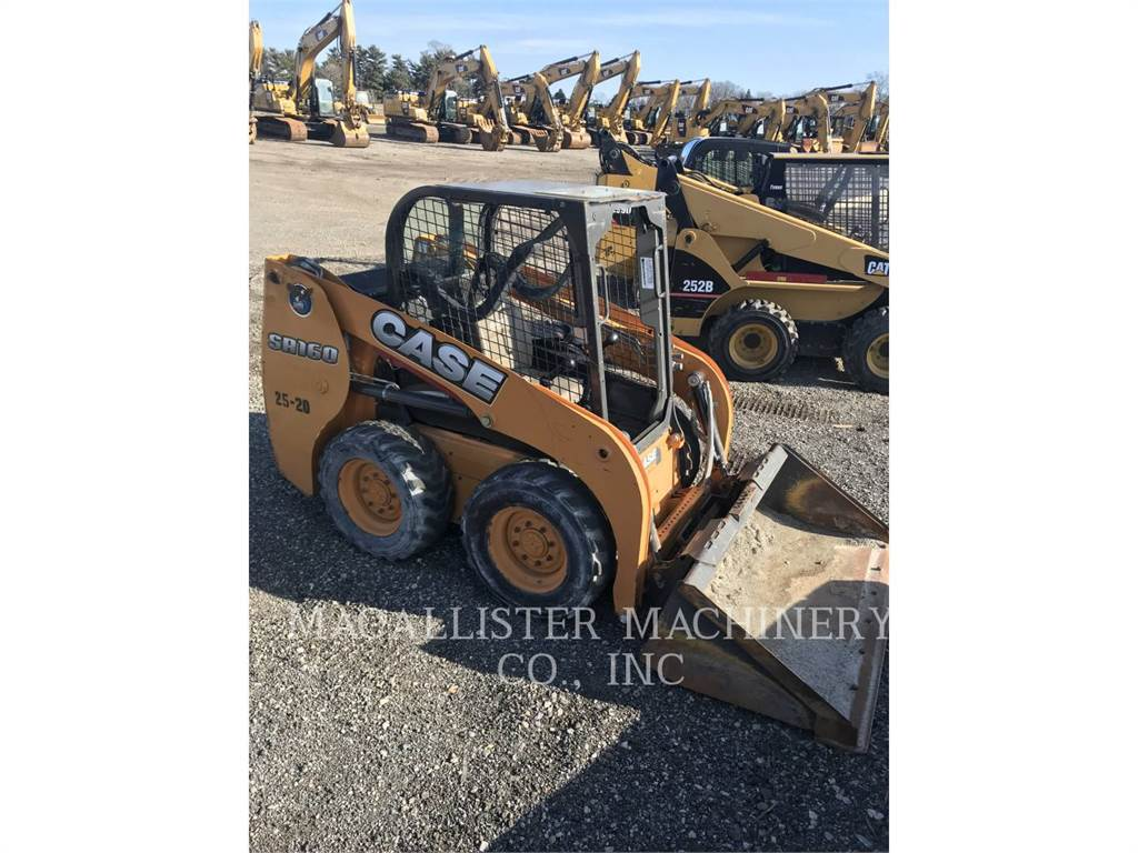 CASE SR160, Minicargadoras, Construcción