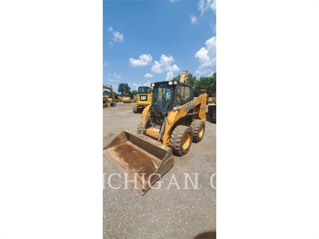 CASE SR210, Skid Steer Loaders, Construction
