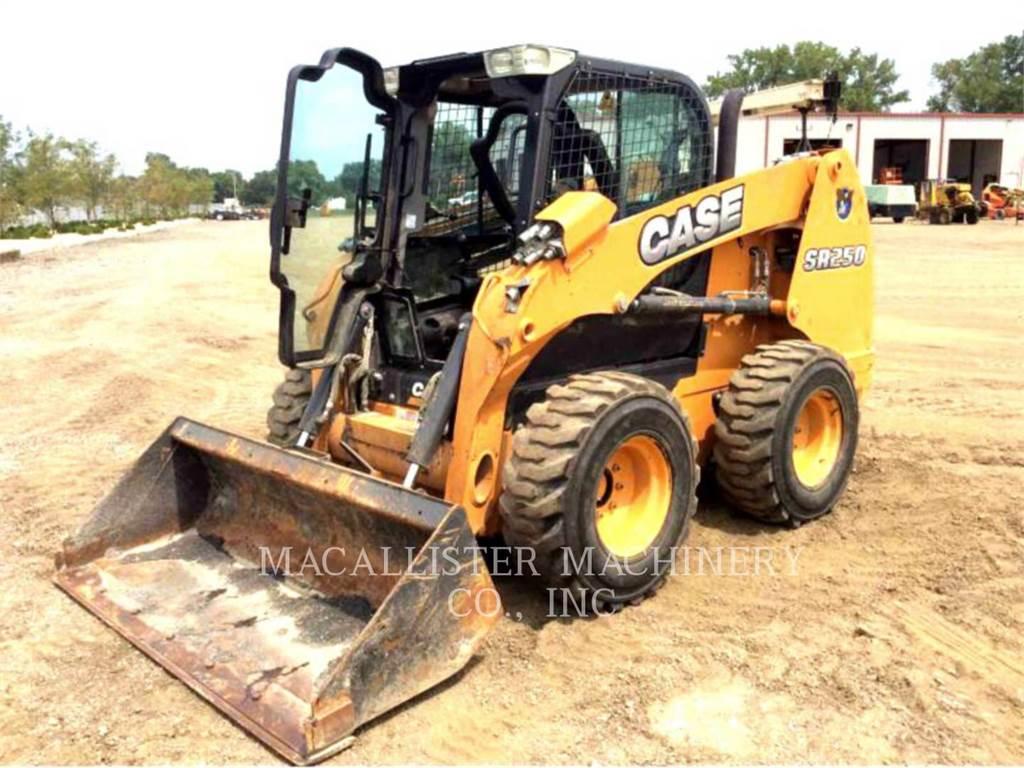CASE SR250, Skid Steer Loaders, Construction