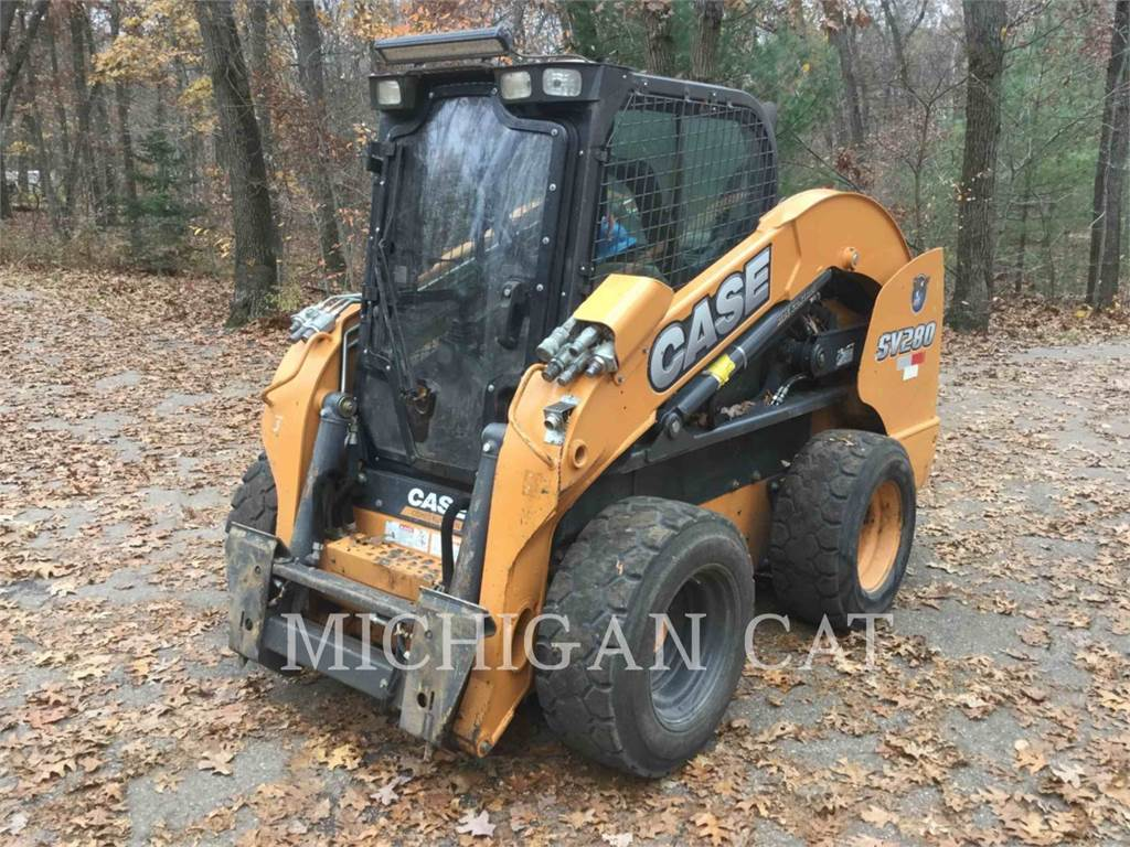 CASE SV280, Skid Steer Loaders, Construction
