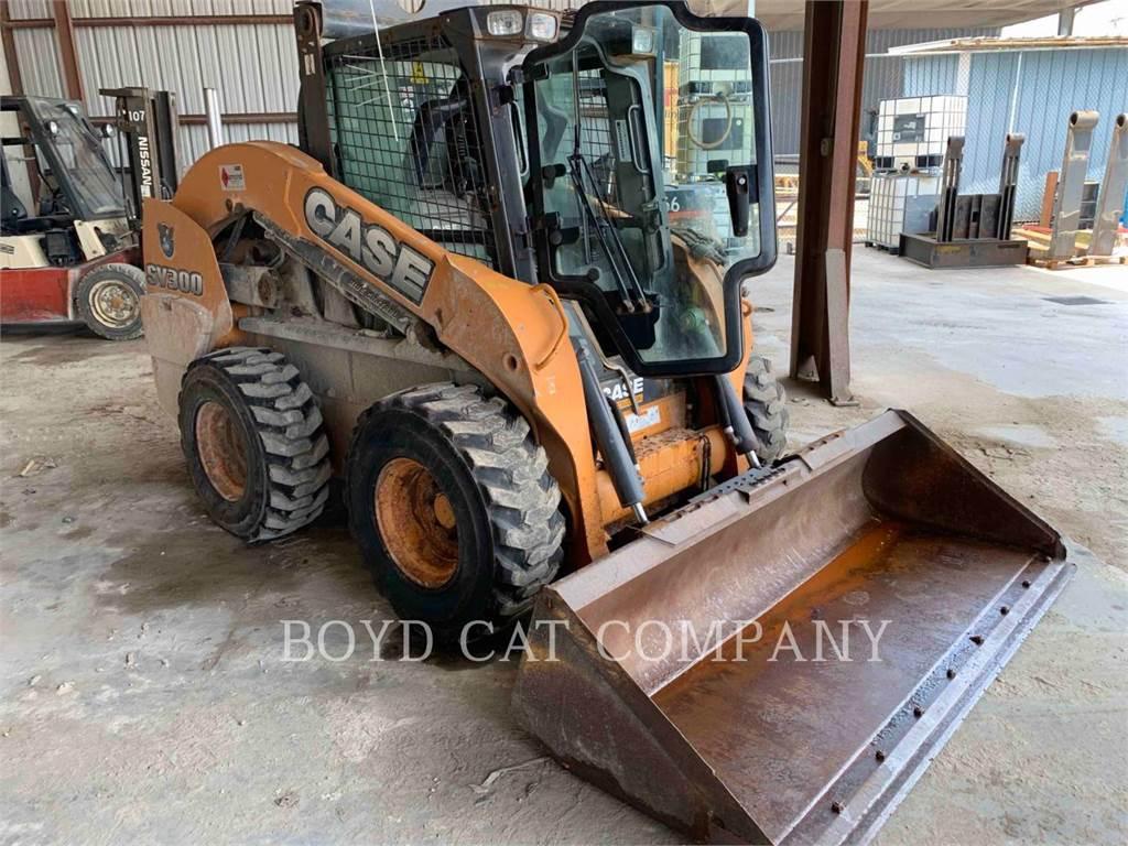 CASE SV300, Chargeuse compacte, Équipement De Construction