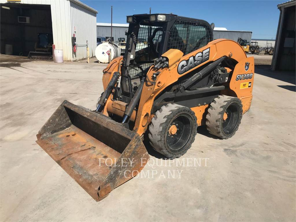 CASE SV300, Skid Steer Loaders, Construction