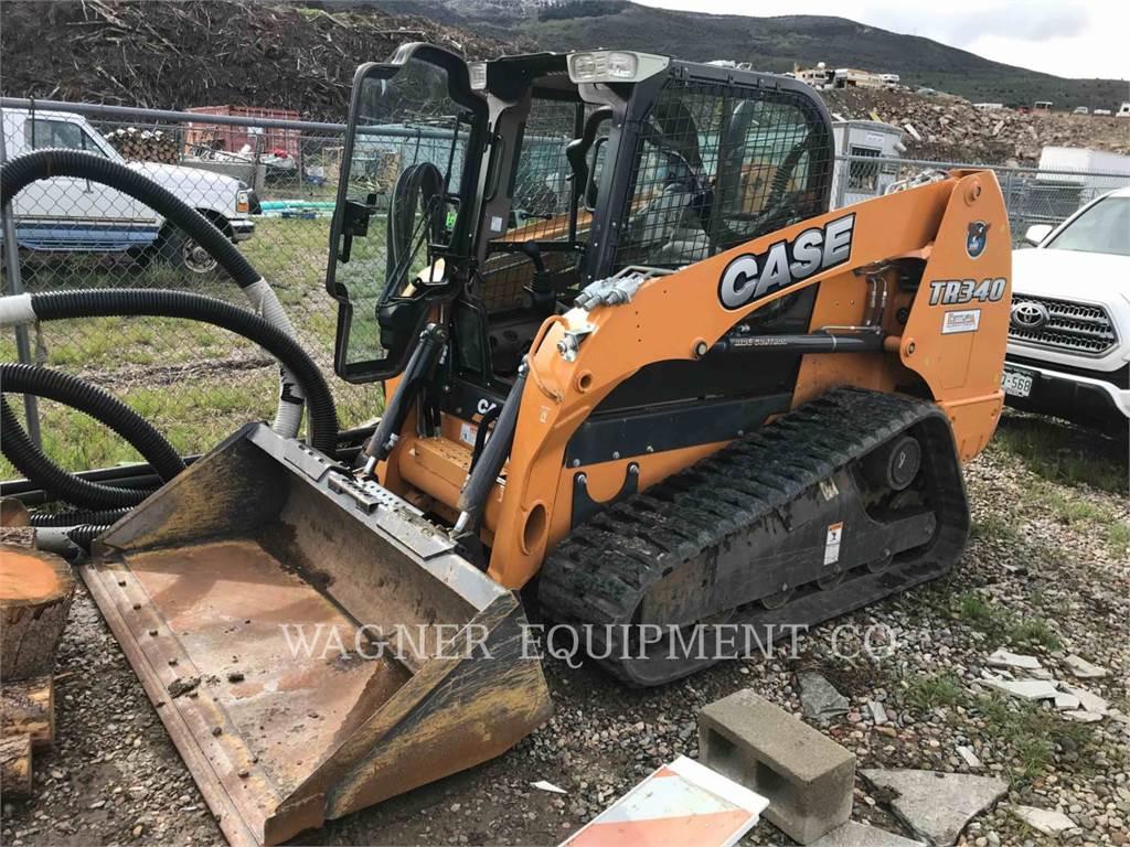 CASE TR340, Chargeuse compacte, Équipement De Construction