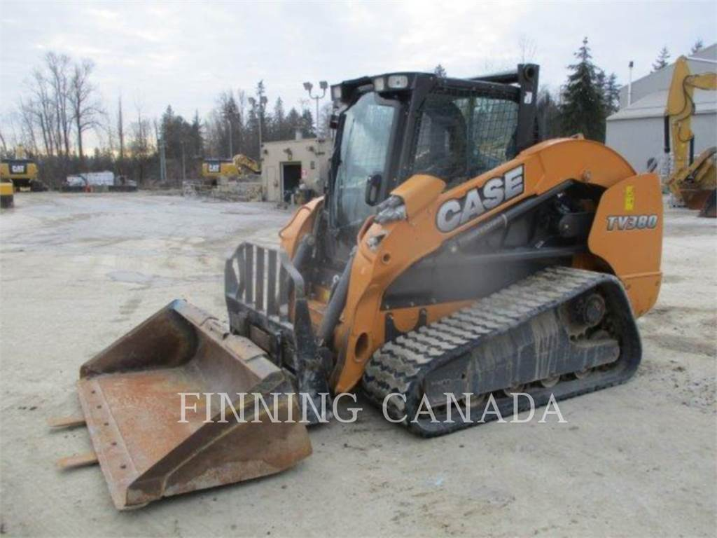 CASE TV 380, Skid Steer Loaders, Construction