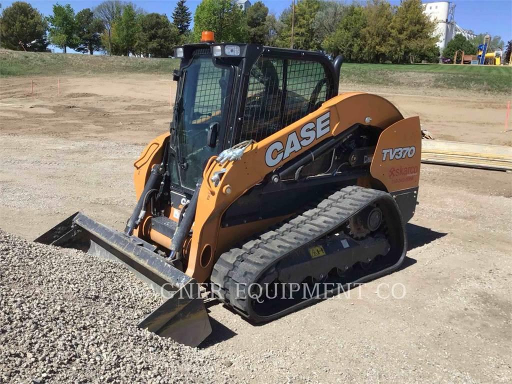 CASE TV370, Skid Steer Loaders, Construction