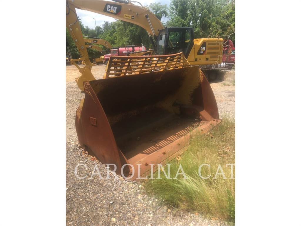 Caterpillar, bucket, Construction