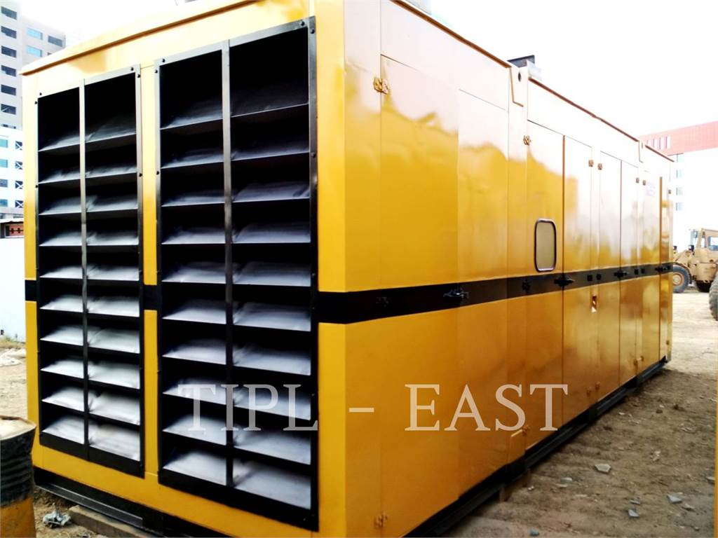 Caterpillar 1010 KVA, Stationary Generator Sets, Construction